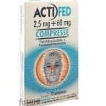 Actifed 12 compresse Farmacia di Cimbro Vergiate