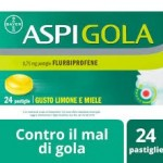 ASPIGOLA 24 pastiglie Farmacia di Cimbro Vergiate